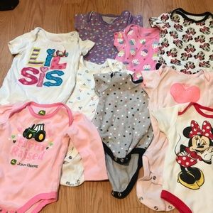 Other - Baby onesies ranging from 6-12 months
